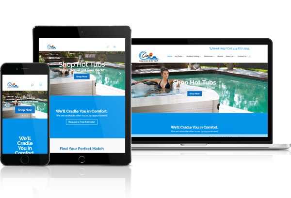 Miami Hot Tubs and Spas Web Design - 305-907-7012