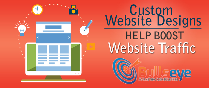 Custom Website Designs Help Boost Website Traffic