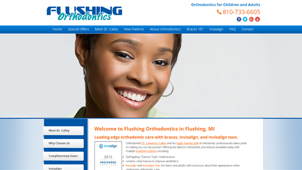 flushing orthodontics